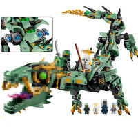 Bela Lepin 06051 592pcs Movie Series Flying Mecha Dragon Building Blocks Bricks Baby Toys Children Gift