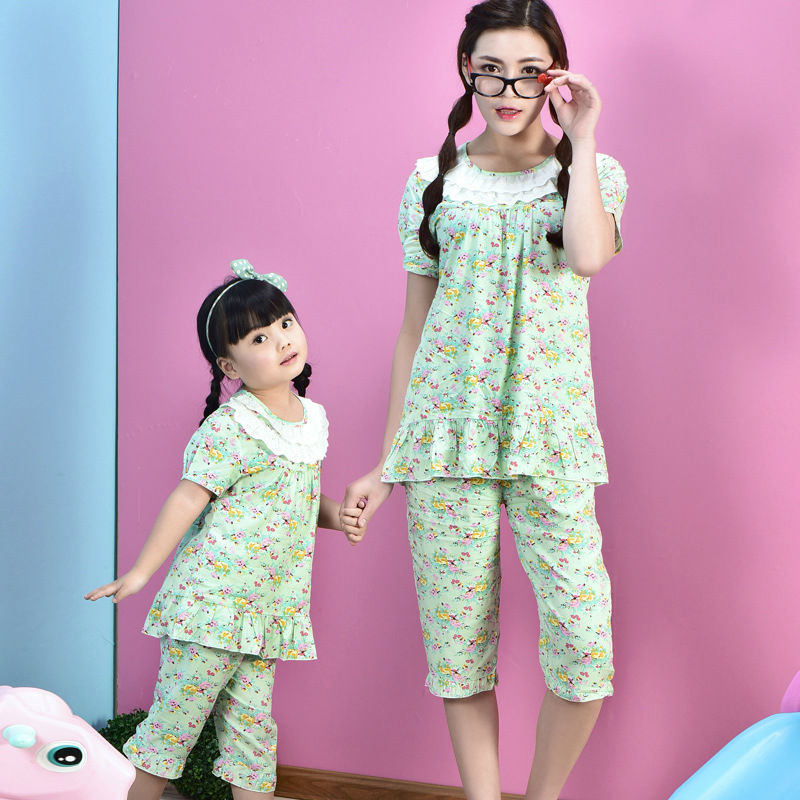 family christmas pyjamas kids matching mother and daughter clothes
