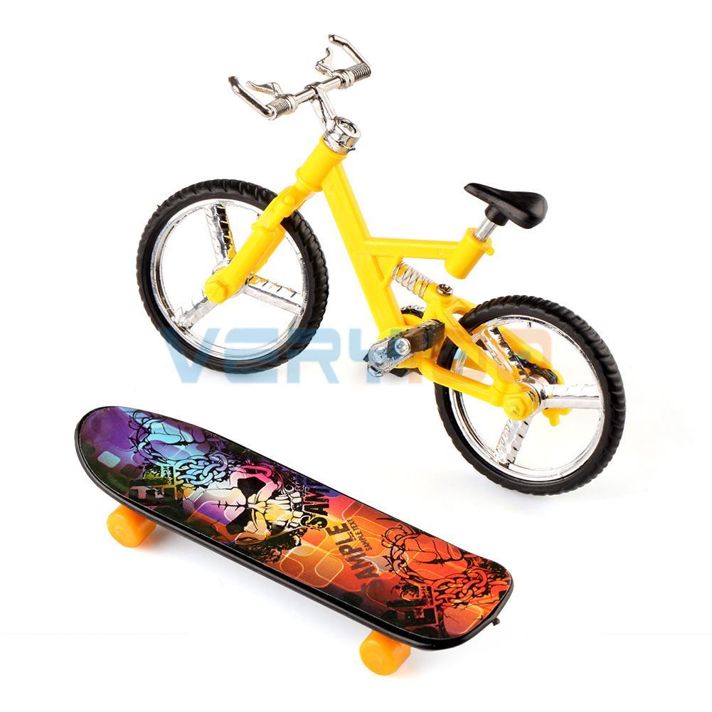 Finger Board Boy Kid Children Wheel BMX Toy Gift Tech Deck Finger Bike Bicycle