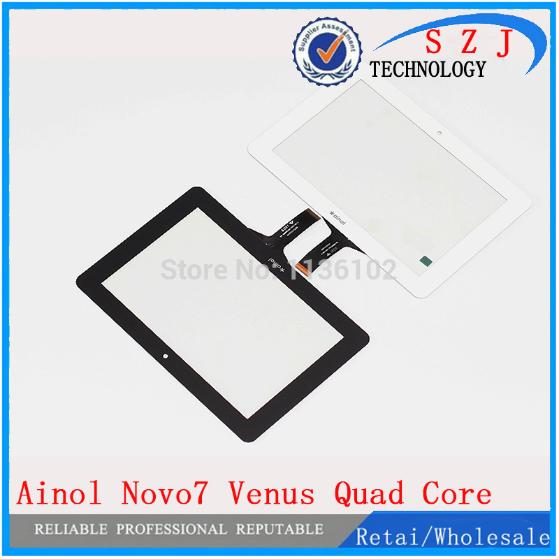 Original 7 inch Ainol Novo7 NOVO 7 Venus Quad Core Tablet touch screen digitizer panel Sensor Glass Replacement Free Shipping new for 8 inch ainol novo 8 novo8 dream tablet capacitive touch screen panel digitizer glass sensor replacement free shipping