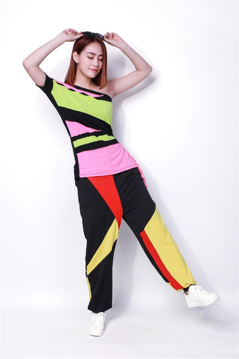 Nova modna blagovna znamka hip hop vrhunski ženski Jazz ds kostumski - Ženska oblačila - Fotografija 2