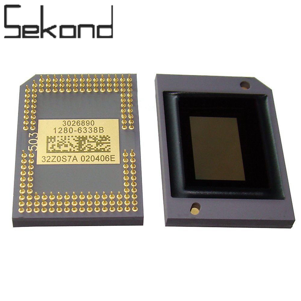 SEKOND Original DMD Chip DLP 1280-6038B 1280-6039B 1280-6439B 1272-6038B 1272-6039B for BenQ Optoma Infocus Samsung Projector free shipping second hand 1280 6038b 1280 6039b dmd chip for is500 mw512 in3116 w600 with 1 month