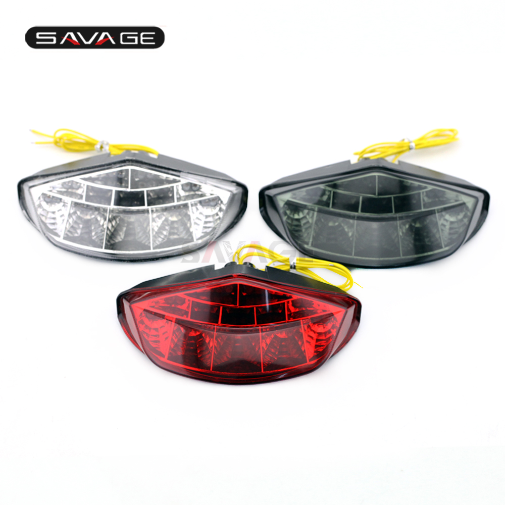 Tail Light For DUCATI MONSTER 659 696 795 796 1100 S EVO Motorcycle Accessories Integrated LED