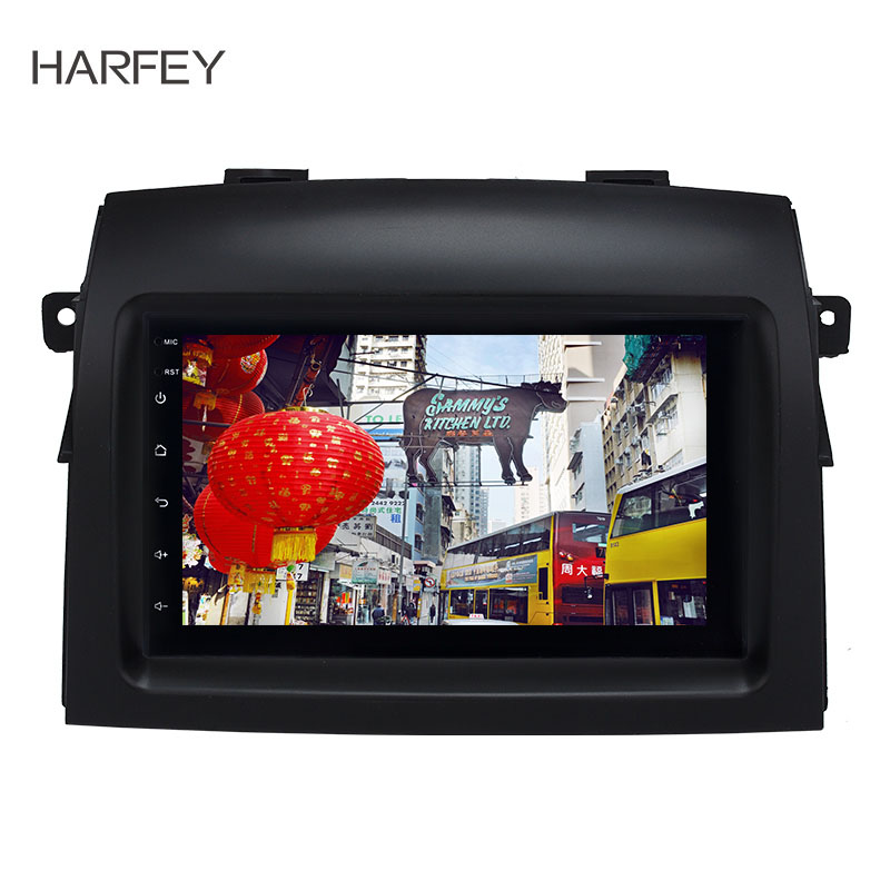 Harfey Android 8.1 Car Radio Multimedia Player For Toyota Sienna 2004 2005 2006 2007 2008 2009 2010 2din Stereo GPS Navigation image
