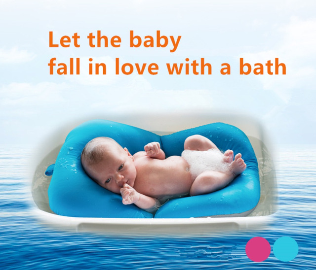 Infant Baby Bath Pad Non Slip Bathtub Mat NewBorn Safety Security ...