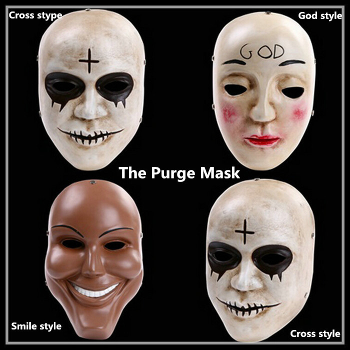 free shipping resin the purge anarchy god mask movie fancy dress adult child costume - Purge Anarchy Masks For Halloween