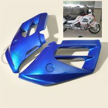 Unpainted Left Right Mid Front Covers Fairing For Honda GoldWing GL1800 12-15 Motorcycle 4 Colors blue front windshield panel accent fairing for honda gl1800 goldwing 12 15 13