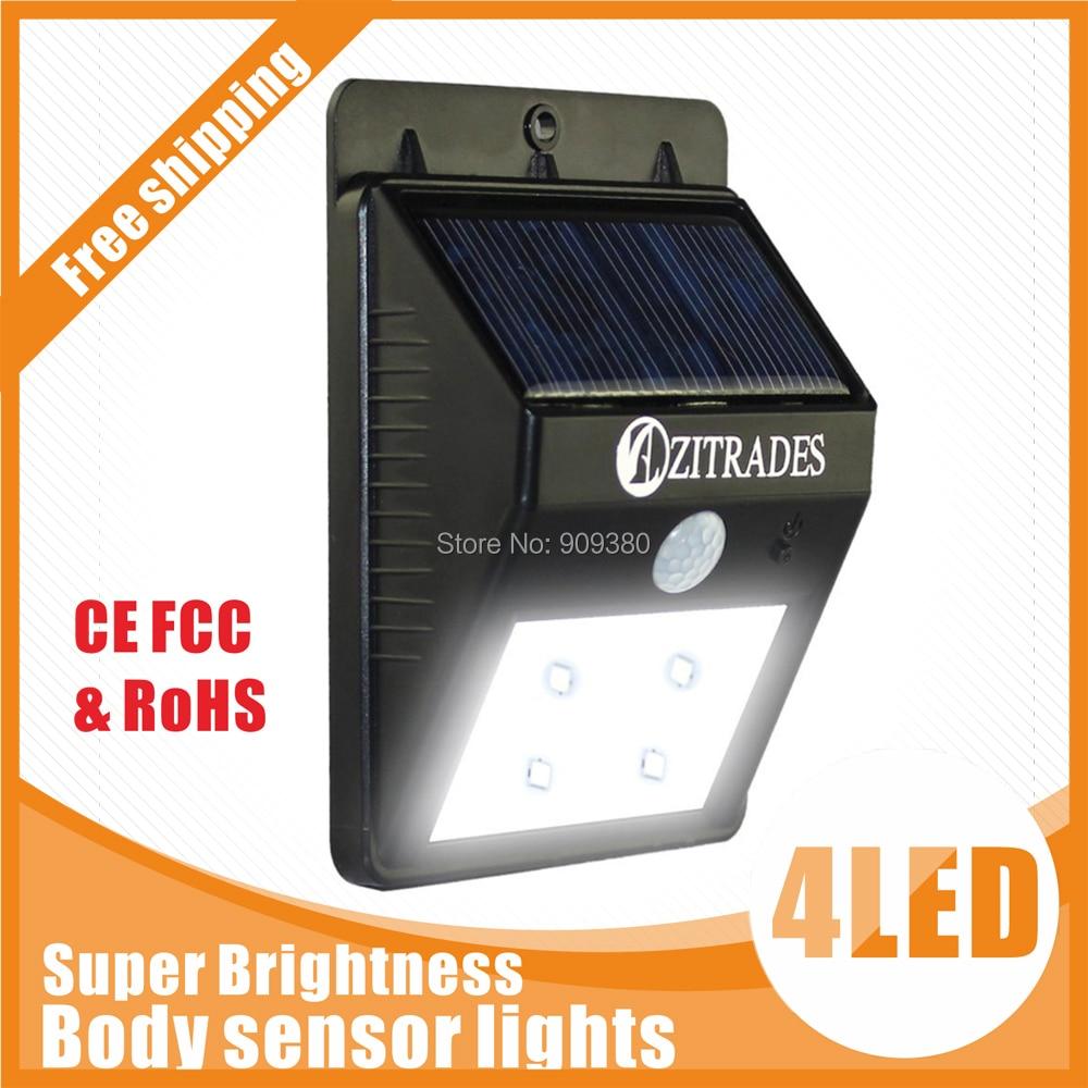 Led solar luz solar exterior jard n llev la l mpara de for Iluminacion exterior solar
