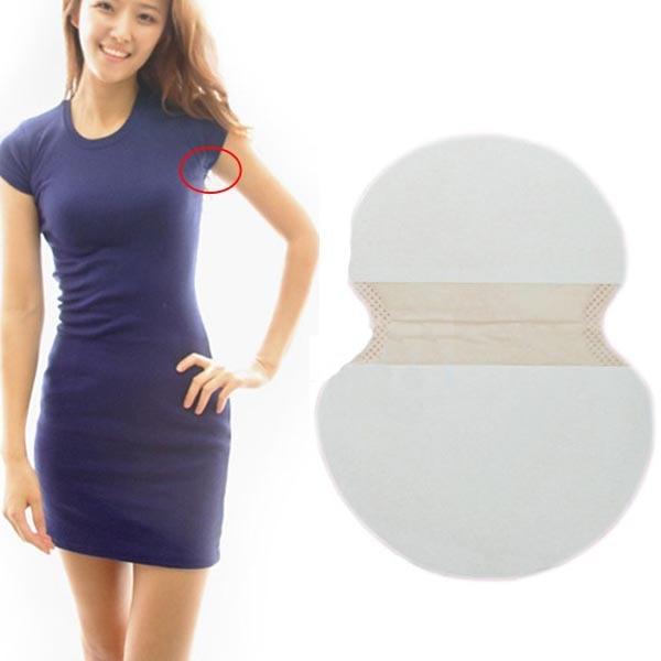 20 pcs disposable underarm sweat guard pads armpit sheet for How to not sweat through dress shirts
