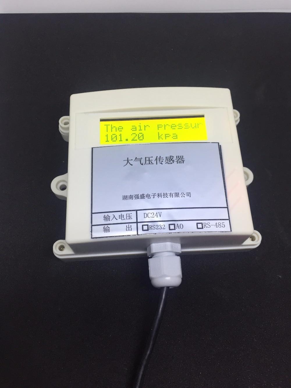 Atmospheric pressure transmitter sensor MODBUS air 485