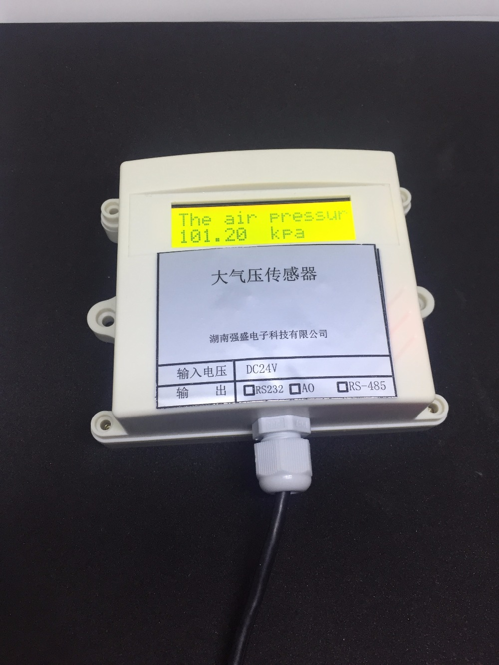 Atmospheric Pressure Transmitter Atmospheric Pressure Sensor MODBUS Air Pressure Sensor 485 Air Pressure Sensor