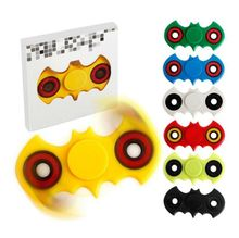 6Colors random Batman Tri Spinner Hand Fidget Toy Plastic Spinner EDC Finger gyro Gags Toys Anti Stress For Autism and ADHD