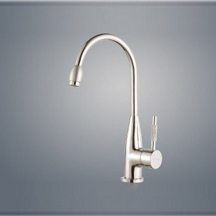High Quality Copper Faucet Kitchen Sink Faucet Single Hole Single Handle Mixer Deck Mounted 360 Degree