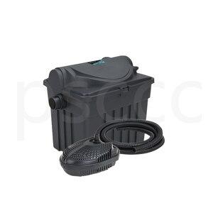 Image 3 - YT 9000 Binnenplaats vijver biochemische filter, waterzuivering apparatuur, filter doos, meerdere filters, ultraviolet sterilisatie.