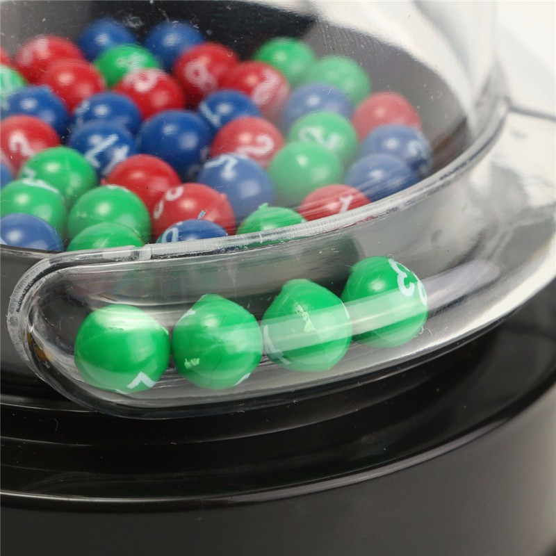 Electric Lucky Number Picking Machine Mini Lottery Bingo Games Shake Lucky Ball Novelty & Gag Toys Gift For Children Adult enlarge