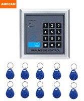 Elettronica rfid di prossimità entrata serratura controllo accessi con 10 portachiavi supporto 250 utenti uffici domestici sistema di sicurezza