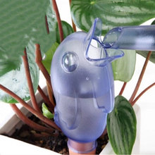 garden Fashion Plastic Bird Watering Device Drip Device House/Garden Water Houseplant Plant Pot Birdie Automatic Watering Device