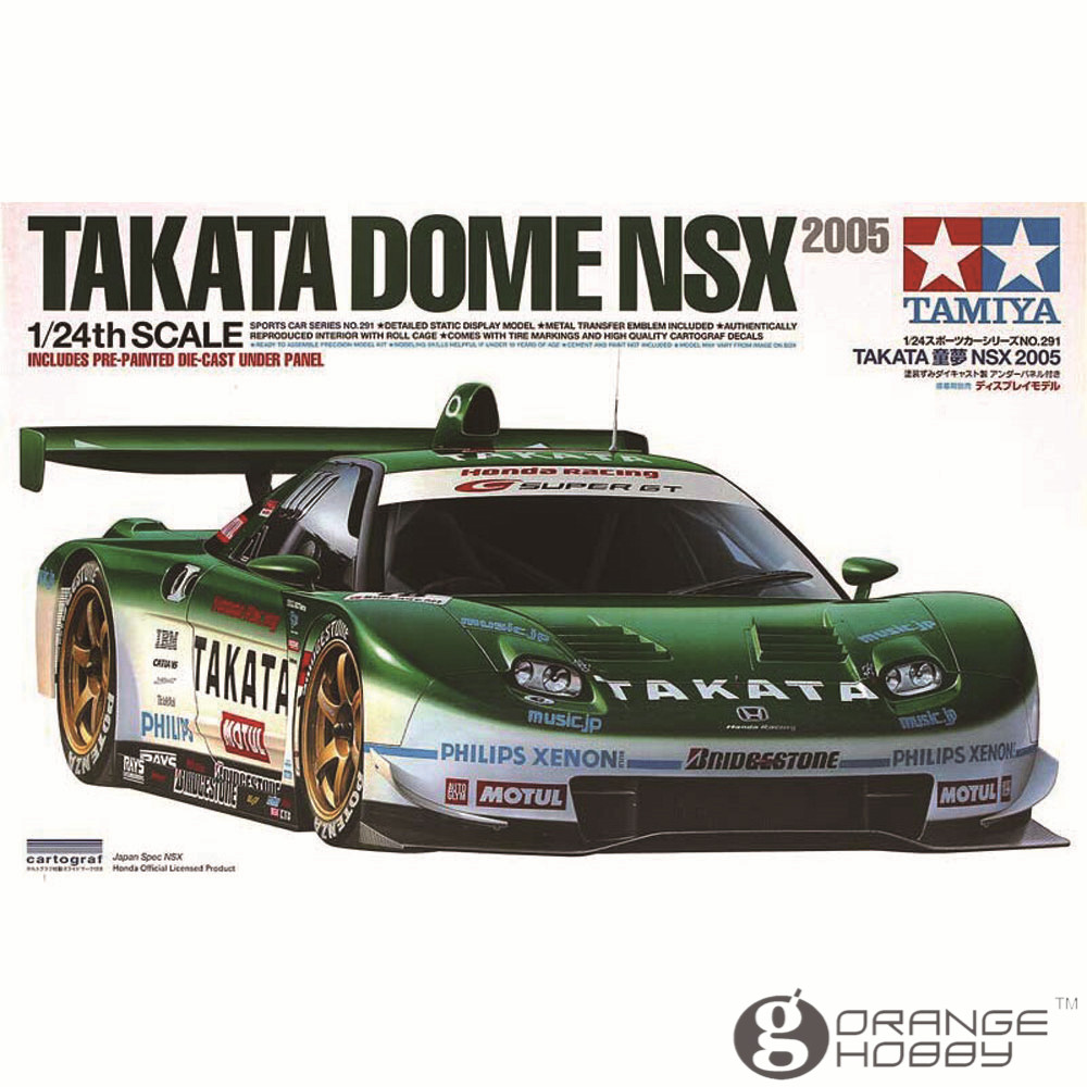 ФОТО OHS Tamiya 24291 1/24 Takata Dome NSX 2005 Scale Assembly Car Model Building Kits