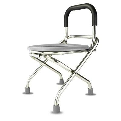 150 кг нагрузки подшипник складной Skidproof беременная женщина горшок в возрасте стул, комод Для ванной стул
