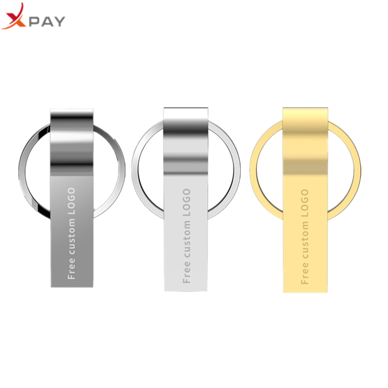 Image 1 - Usb flash drive 2.0 32GB portable metal usb stick 128GB pen drive 4GB 8GB 16GB 64GB flash disk keychain pendrive free print LOGO-in USB Flash Drives from Computer & Office