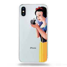 Fairy Tale Princess Snow white Cinderella Mermaid Drawing Phone Case Fo