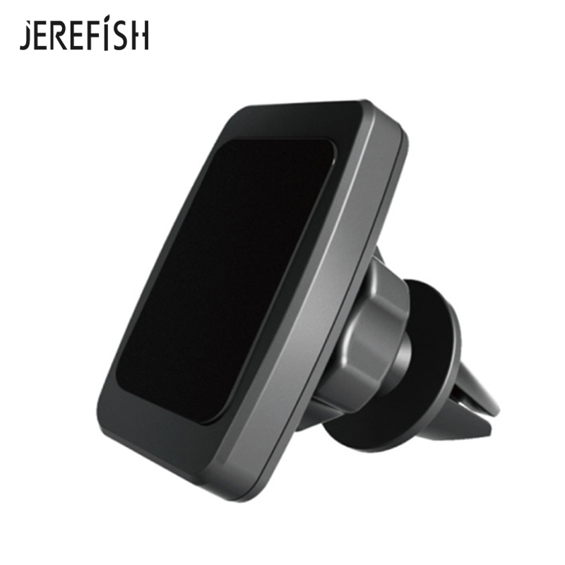 JEREFISH Magnetic Car Phone Mount 6 Strong Magnet Universal Air Vent Car Phone Mount Holder For Smart Phones Stand