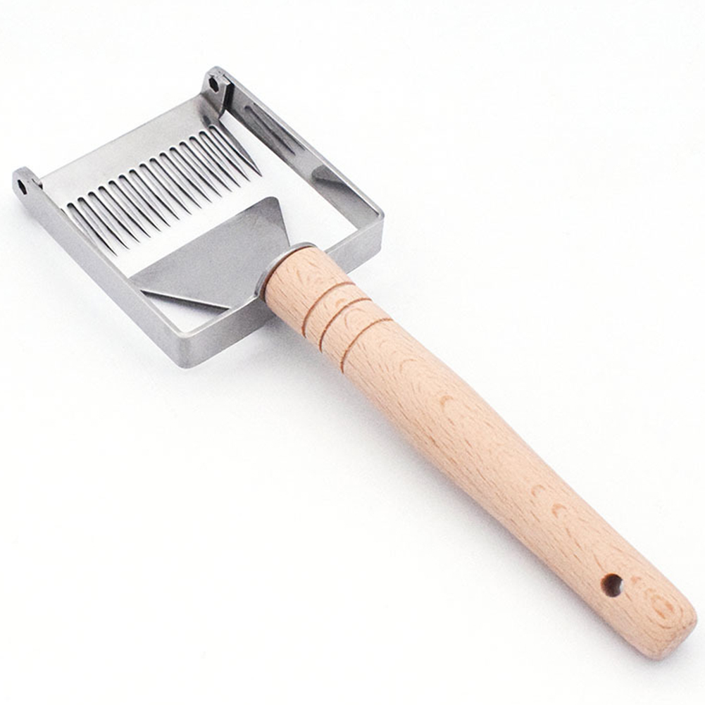 Sparse Rake Equipment Beekeeping Tool Stainless Steel Balance Bee Hive Uncapping Straight Needles Shovel Honey Fork Scraper CombSparse Rake Equipment Beekeeping Tool Stainless Steel Balance Bee Hive Uncapping Straight Needles Shovel Honey Fork Scraper Comb