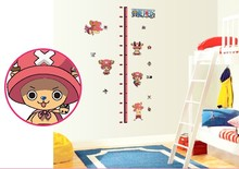 Tony Tony Chopper Height Measure For Kids wall room sticker