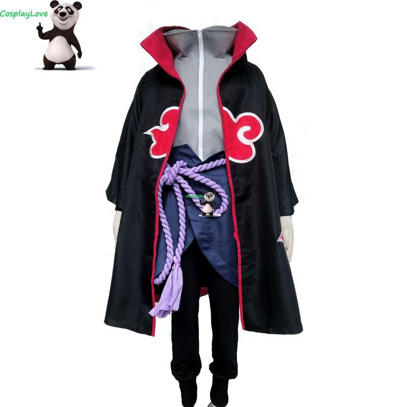 Us 9899 10 Offcosplaylove Naruto Shippuuden Team Taka Hawk Sasuke Uchiha Cosplay Costume Custom Made Women For Christmas Halloween In Anime
