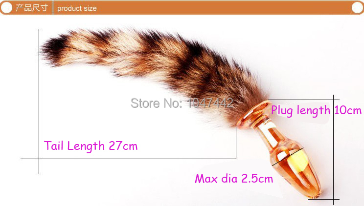 Anal Sex Toys Tails - Aliexpress.com : Buy Glass Butt Plug Fox Tail Anal Sex Toys, G spot  Stimulation Prostate Massager Porn Adult Sex Products, Ass plug Anal Toys.  from Reliable ...