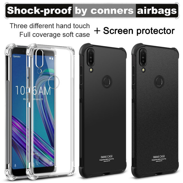 asus zenfone max pro m1 cover  For ASUS Zenfone MAX Pro M1 Case IMAK Shockproof Air Bag Series Soft ...