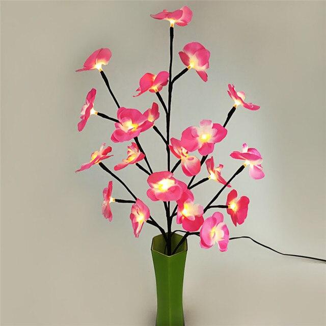Led Fleur Lumiere Decoration Lampe Pour La Maison Bureau Festival