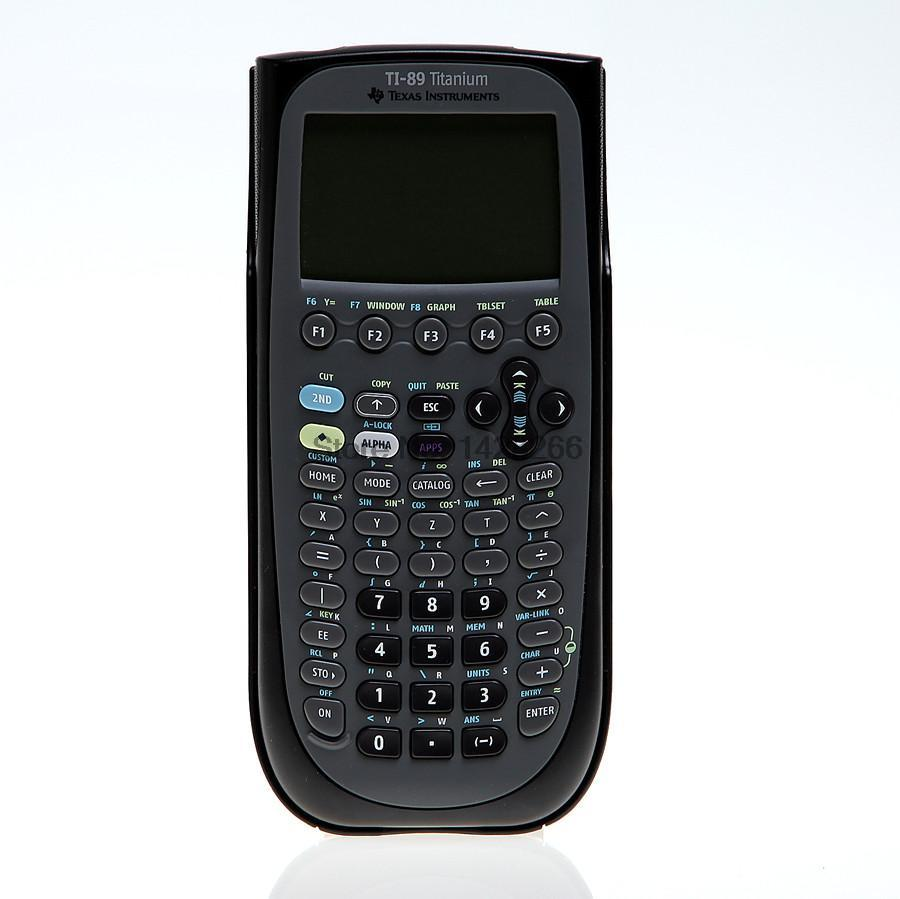2016 Hot SaleTexas Instruments TI 89 Titanium Graphing Calculator large screen ultra-thin portable AP exam FREE Shipping free shipping one pieces sonar quest carbon fiber silver plated eu power plug