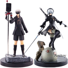 Game Anime Figure NieR Automata YoRHa No.2 Type B 2B / No.9 Type S 9S PVC NieR: Automata Action Figure Collectible Model Toy