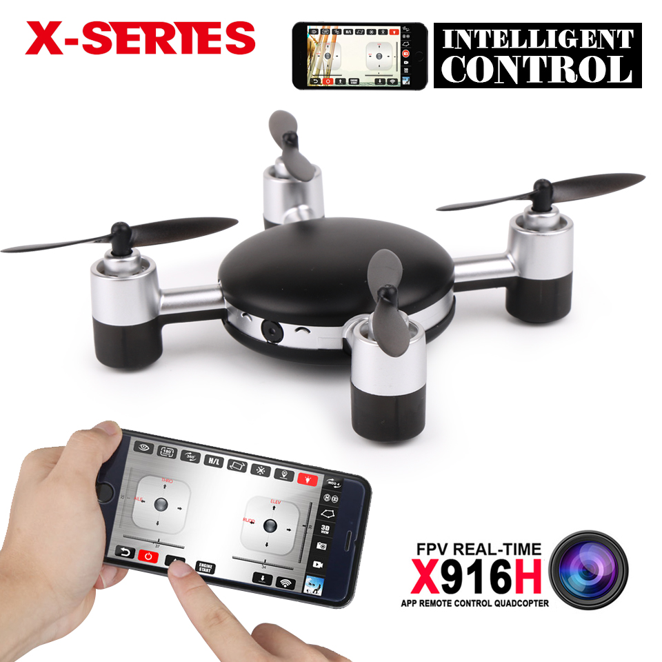 ФОТО mjx x916h app control fpv mini rc drone with hd camera 5.8g real-time 6-axis rtf dron rc quadcopter helicopter vs jjrc h30