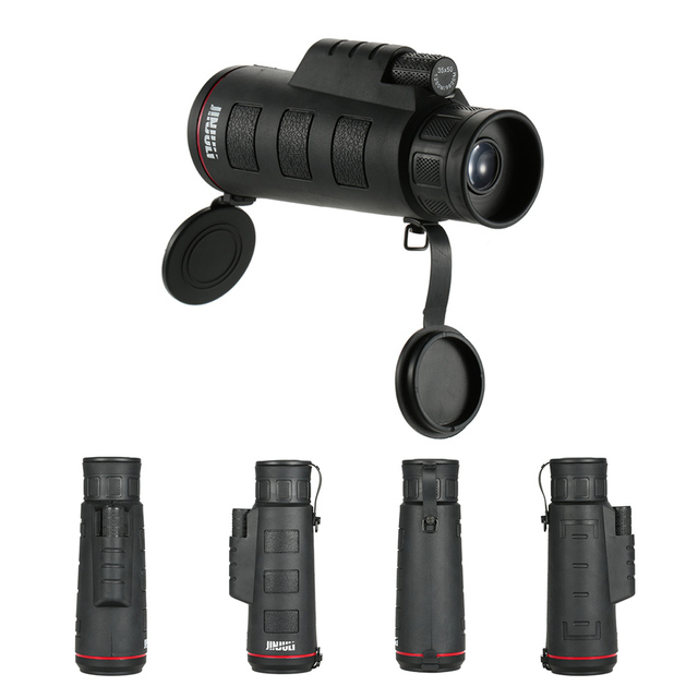 Magnification Waterproof High Powered Monocular Single Hand Focus Binoculars Optical Telescope Hunting