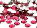 6mm ROSE Color SS30 crystal Resin rhinestones flatback,Free Shipping 10,000pcs/bag