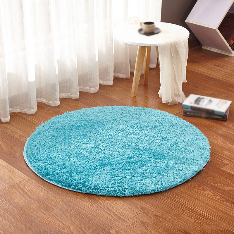 fluffy rugs anti skid shaggy area rug room home bedroom