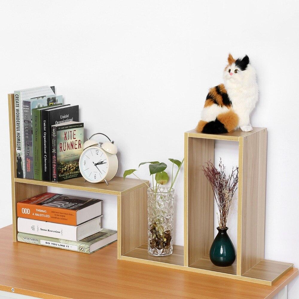 Shelf Desktop-Storage Organization Storage-Boxes-Holders Household-Accessories Wood Home