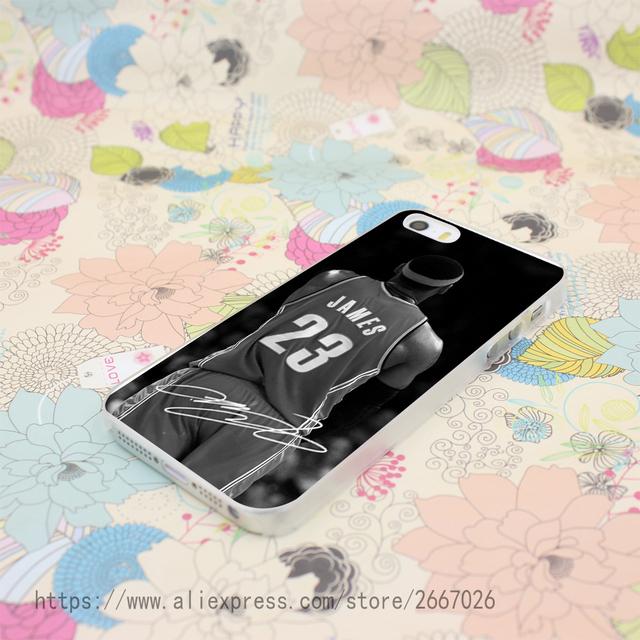 Lebron James Hard Transparent Cover Case for iPhone 7 7 Plus 6 6S Plus 5 5S SE 5C 4 4S