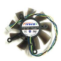 FD8015U12S 0.5A gpu cooler 75mm Fan For ASUS GTX 1050ti/750/750ti GTX1050ti GTX750 GTX750ti video Graphics Card Cooling