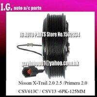 CSV13 AC sprzęgło sprężarki dla samochodu NISSAN X TRAIL 2.0 2.5/PRIMERA 2.0 92600 AU010 92600 AU000 92600 AU01B|ac compressor clutch|compressor clutchac compressor -