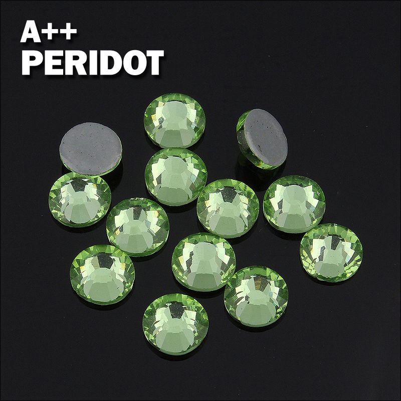 Peridot Bulk Wholesale Hot fix Rhinestones Similar Swa AAA Quality Strass  Hotfix Stones and Crystals For Clothes Decoration-in Rhinestones from Home  ... 1e74ed6e9afd