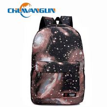 Chuwanglin Women printing high quality casual backpack Galaxy Stars Universe Space School Book Campus student Backpack N333(China)