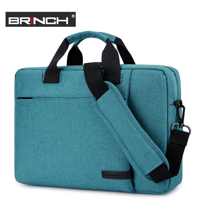 New 13.3 14 15.6 inch laptop handbag shoulder bag protective case pouch cover for macbook pro air reina Briefcase for man woman large capacity 15 6 inch laptop handbag protective case notebook cover briefcase men traveler messenger shoulder bag for macbook