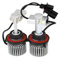 6000K 4800LM Hi/Lo All-in-one Headlight 60W/Each Bulb High Low Beam Super Bright Version of X7 LED H13 Headlamp Car Styling
