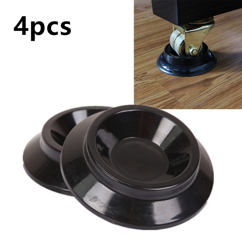 4Pcs Antiskid Vertical Piano Caster Cups Mats Musical Instrument Parts And Accessories