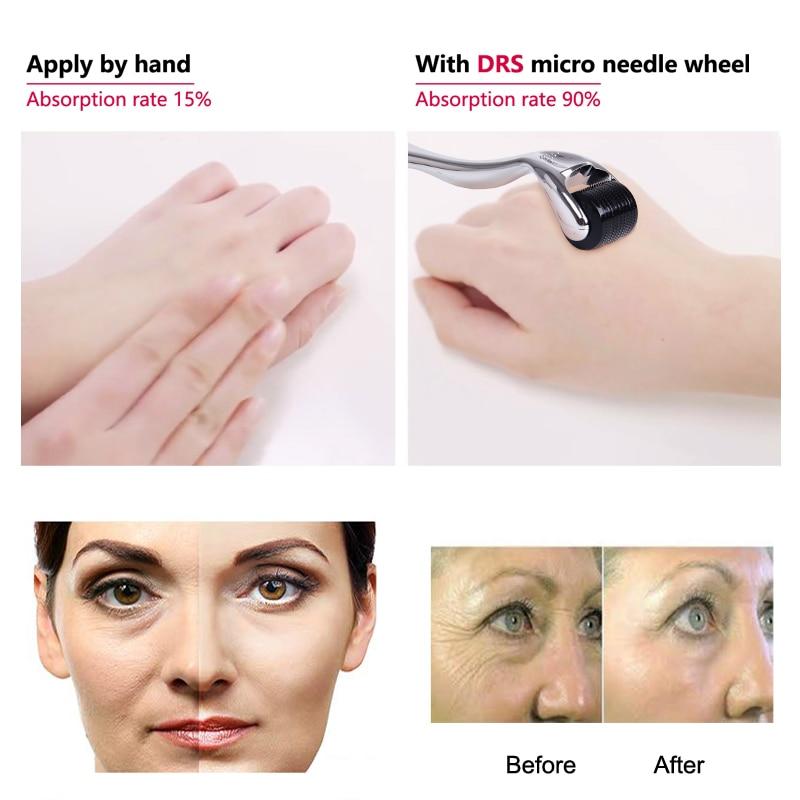 DARSONVAL DRS 540 derma roller micro needles titanium microneedle mezoroller machine for skin care and body treatment 2