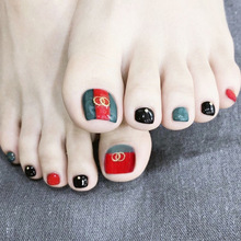 Buy Red Toe Nail Designs And Get Free Shipping On Aliexpress