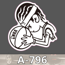 A-796 Basketball Mode Kühle DIY Aufkleber Für Laptop Gepäck Skateboard Kühlschrank Auto Graffiti Cartoon Aufkleber